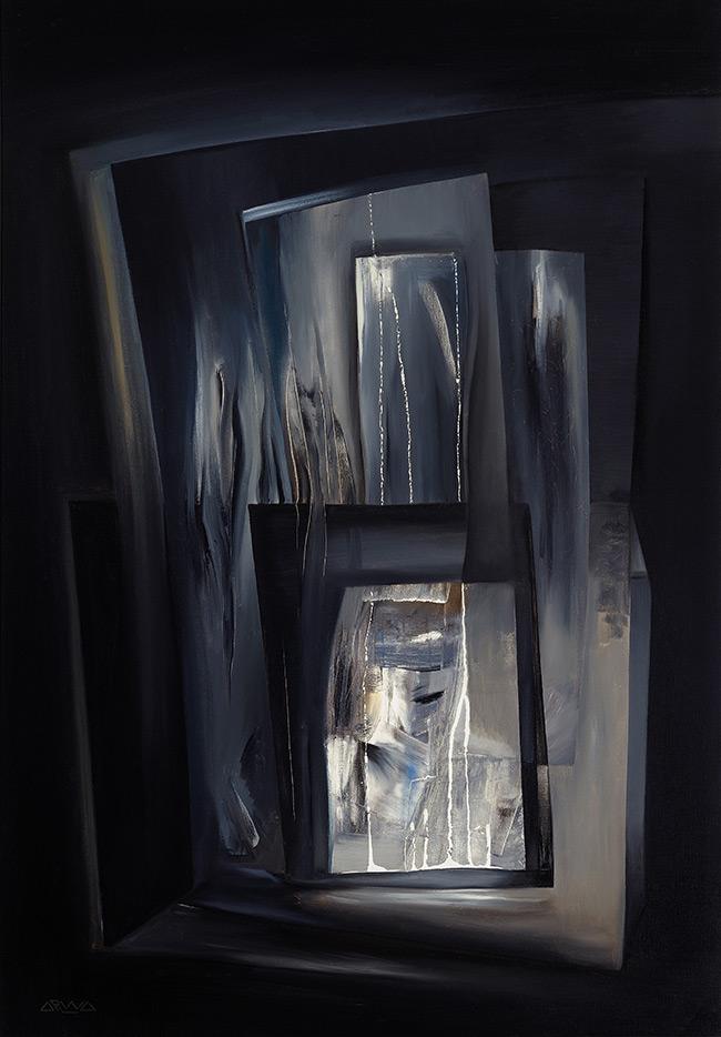 Le miroir des eaux arwa seifeddine for Miroir 70 x 100
